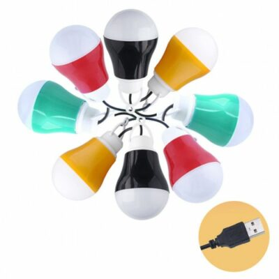 Λάμπα LED, συνδεση σε USB και Power bank   - XJJ5 OEM