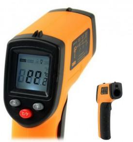 Ανέπαφο Θερμόμετρο ακριβείας Υπερύθρων με βοηθητικό Laser spot - GM320 OEM