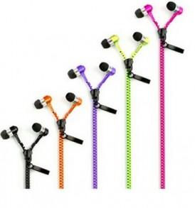Ακουστικά στερεοφωνικά μικρά εσωτερικά inEar Zippers σε σχημα φερμουάρ -  Z5A OEM