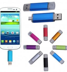 16GB Διπλό Memory Stick με Micro USB / USB, Flash  Drive - DA1015C3 OEM