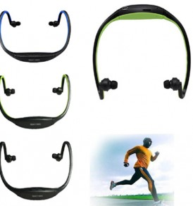 Sport Headset MP3 Player Micro TF SD Slot Headphone – G196 OEM