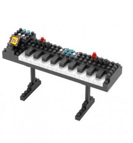 Αρμόνια / Τριδιάστατο Puzzle με μουσικα οργανα, 110 κομμάτια - KEY65 LOZ