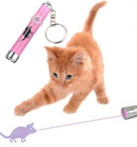 Laser εικονικό ποντίκι παιχνίδι για γάτες - PETPOINT