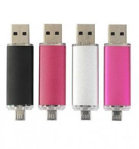 8GB Διπλό Memory Stick με Micro USB / USB, Flash  Drive μνήμης - ZB27201 OEM