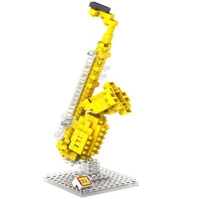 Σαξόφωνο  / Τριδιάστατο Puzzle με μουσικα όργανα, 120 κομμάτια - SAX10  LOZ