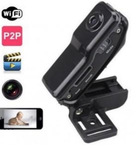 IP/ WiFi / P2P Spy Κάμερα mini DV για παρακολούθηση και καταγραφή - MD81 OEM