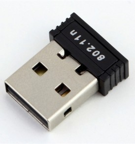 150Mbps  Mini USB WiFi Wireless Adapter, Ασύρματη κάρτα δικτύου NB021 - OEM