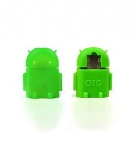 Αντάπτορας microUSB male - USB female για κινητό/ταμπλετ - R10 OEM