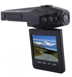 HD καταγραφικό,κάμερα αυτοκινήτου IR,κυκλικη λήψη, περιστρεφόμενη Οθόνη - OEM