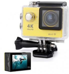 4K Ultra HD Action Camera, Wifi, υποβρύχια κάμερα με 2'' LCD οθόνη  -  H9 EKEN