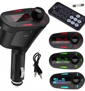 CAR MP3 Player για αυτοκινητο ασύρματο με  τηλεκοντρόλ USB/SD - AM117 OEM