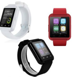 Έξυπνο ρολόι υπολογιστής, σύνδεση με κινητό, Bluetooth Smartwatch - EE19 U8box