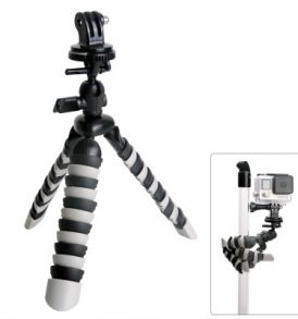 Fat Cat Τριπόδι εύκαμπτο για κάμερα και action camera με αντάπτορες - D16 - Fantaseal