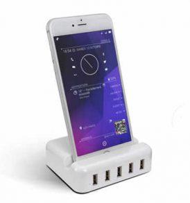 30W USB Πολυφορτιστής πρίζας για Iphone,φορητές συσκευές /τηλέφωνα - B12 OEM