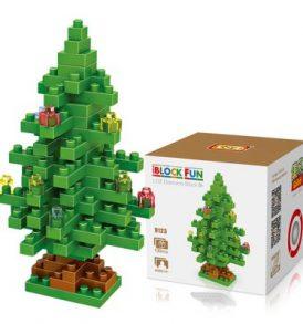 Τριδιάστατο Puzzle Χριστουγεννιάτικο Δέντρο, 130 κομμάτια - M9123 LOZ