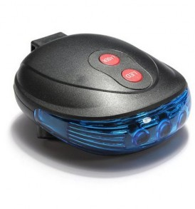 LED Φως ποδηλάτου με Laser οριοθέτησης περιοχής ασφαλείας στο δρόμο - LSR2 OEM