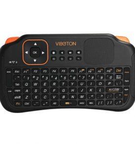 Ασύρματο Airmouse keyboard remote control Touchpad,Επαναφορτιζόμενο  - S1 VIBOTON