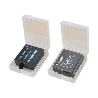 Σετ με δύο προστατευτικές αντιμαγνητικές θήκες μπαταρίας για action camera - Β2 KIGMA
