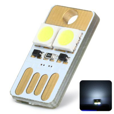 Μικροσκοπικό USB Φωτάκι LED,σύνδεσης στο USB οποιασδήποτε συσκευής - L23 OEM