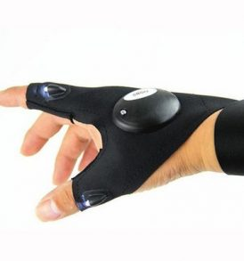 Γάντι φακός δύο δακτύλων με LED φώς κατάλληλο για μαστορέματα,ψάρεμα κλπ - GLOVELITE