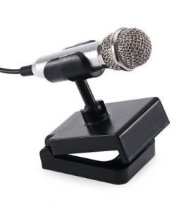 Multimedia μίνι μικρόφωνο υπολογιστή / κινητού με ανοιγοκλειόμενο stand  - D08 OEM