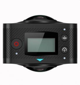 360° μοίρες πανοραμική Action Camera διπλών φακών μαζί με τρίποδο -  ELECAM 360