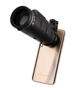 Μονόκυαλο 10X40 αδιάβροχο που μπορεί να προσαρτηθεί και σε κινητό -  DongChaQiuHao