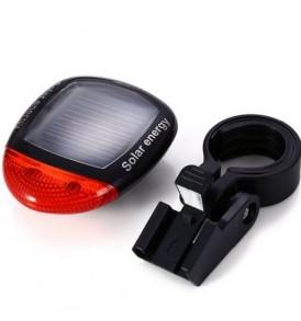 Οικολογικό ηλιακό φως ποδηλάτου οπίσθιο τριών λειτουργιών φώτισης - SOLAR909 OEM