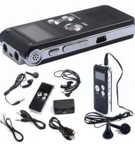 Voice Recorder,Συσκευή Υπαγόρευσης και κοριός τηλεφώνου 8GB/ 650 ώρες - PI3 OEM
