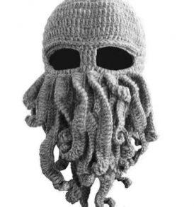 """""""Κθούλου"""" H. P. Lovecraft  σκούφος για snowboard / ski και χειμερινά σπορ - Cthulhu 60A OEM - Γκρι"""