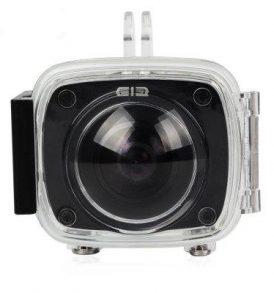 Διάφανη υποβρύχια αδιάβροχη θήκη 30μ για action camera Elecam 360 -  ELEPHONE