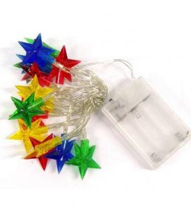 15 αστέρια LED φώτα μπαταρίας,διακόσμηση για Χριστούγεννα / Πρωτοχρονιά - BL15 OEM
