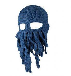 """""""Κθούλου"""" H. P. Lovecraft  σκούφος για snowboard / ski και χειμερινά σπορ - Cthulhu 60A OEM - Μπλε σκούρο"""