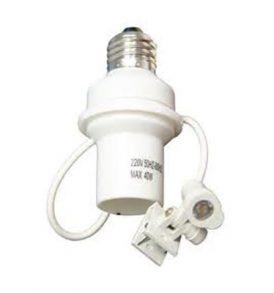 Ντουί E27 με Αυτόματο αισθητήρας φωτός  / E27 Automatic light sensor - ASL111 OEM