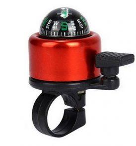 Μεταλλικό ανοξείδωτο κουδούνι ποδηλάτου με πυξίδα πορείας - CMP360R OEM