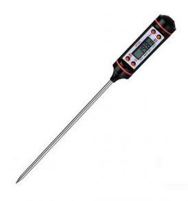Ψηφιακό θερμόμετρο ψησίματος φαγητού / κρέατος φούρνου, καρφωτό - DIGI153 OEM