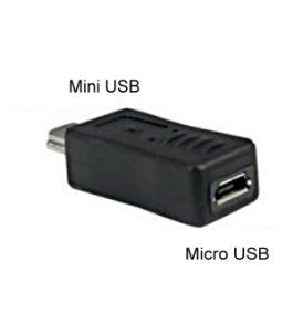 Μετατροπέας αντάπτορας Micro USB θηλυκό προς Mini USB αρσενικό - CH3C OEM