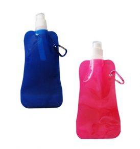 Αθλητικό αναδιπλούμενο πρακτικό παγούρι νερού με κρίκο μεταφοράς 0.5L- A028 OEM