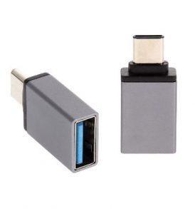 OTG Aντάπτορας μετατροπέας , USB 3.1 θηλυκό / Type-C αρσενικό - CP001 OEM