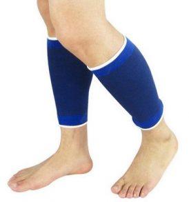 Ζευγάρι ελαστικής αθλητικής περικνημίδας,χρώματος μπλε -  ADITES 5806