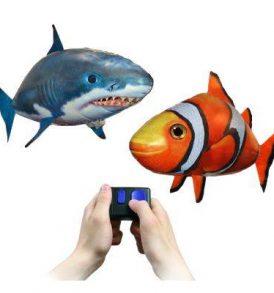 Air Swimmers, Ιπτάμενο τηλεκατευθυνόμενο drone ψάρι με  χειριστήριο - AB0005 OEM