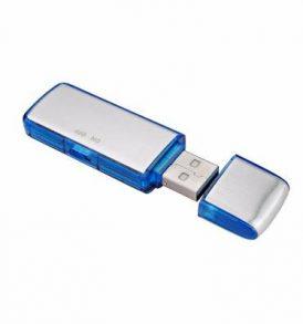 Κοριός παρακολούθησης Καταγραφικό Ήχου USB Stick Spy Flash Με Μνήμη 8GB - SK858 OEM