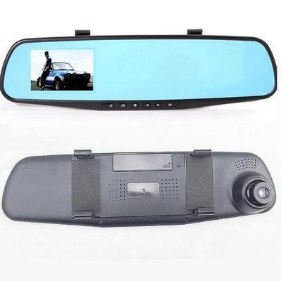 IR Κάμερα καθρέφτης αυτοκινήτου καταγραφικό εικόνας ήχου,car camera HD 1080p -D17 OEM
