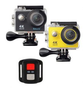4K Ultra HD Action Camera, Wifi, υποβρύχια με 2'' LCD οθόνη,remote - Original H9R EKEN