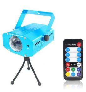 Φωτορυθμικό Laser LED Εφέ Νερού,Water Ripples,με Remote και τρίποδο - HL0903 OEM