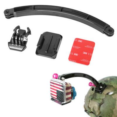 Βάση κάμερας με βραχίονα για action camera, κατάλληλη και για κράνος - RL19 OEM