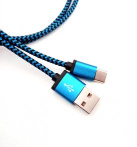 1 μέτρο ενισχυμένο καλώδιο από USB αρσενικό σε Type C αρσενικό -  M100  ONEMINUS