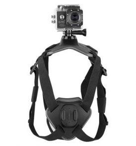 Γιλέκο σκύλου / pets / ζώων για action camera με 2 βάσεις ράχης και στήθους - M07 OEM