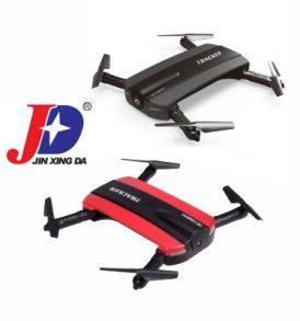 Αναδιπλούμενο Selfie Drone 720P με wifi χειρισμό απο τηλέφωνο - Tracker 523 JXD