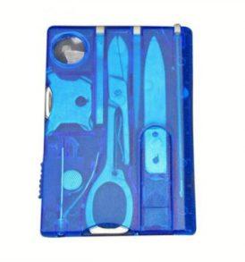 Πολυεργαλείο Επιβίωσης και κάμπινγκ σε μέγεθος κάρτας 10 σε 1 survival kit - LSH026 OEM